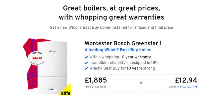 Heatable Boiler Installation Prices